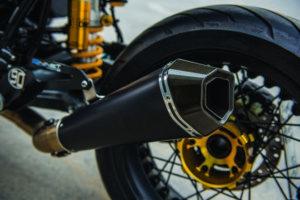 BMW-R9t-Custom-build- Dubai-Akrapovic-exhaust