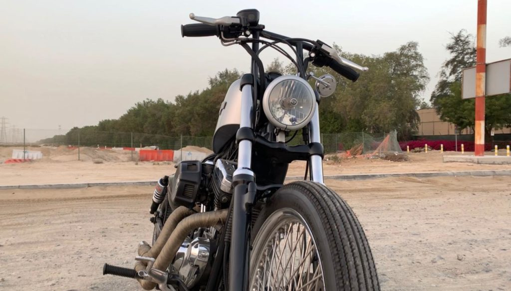 Custom-catch-episode-2-dell-cafe-racer-middle-east-2006-harley-davidson-sportster-junkyard-dog