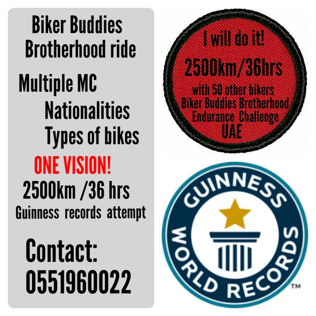 UAE's largest motorcycle endurance ride-vicky-mehta-uae-dubai
