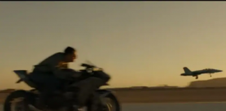 Tom Cruise-Top Gun-2-Kawasaki Ninja H2-uae-dubai