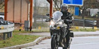 Ducati Multistrada V4 spy shot-uae-dubai