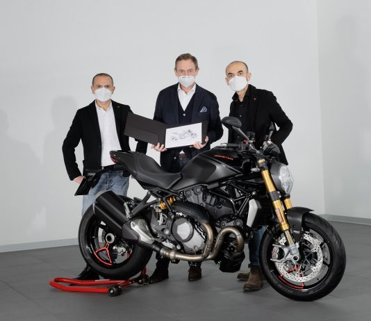 Ducati Monster 350,000 units sold